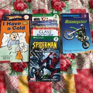Other - Bulk of Level 1-3 Reading Books